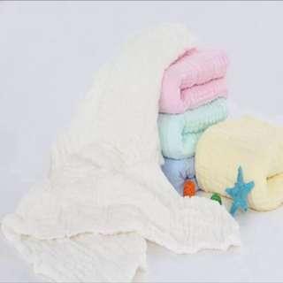 六層紗布大浴巾/蓋毯(各色現貨)