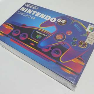 Nintendo 64 (NUS-001) Japan Region Grey + Blaze Ultra 64 SFX Universal Game Adapter