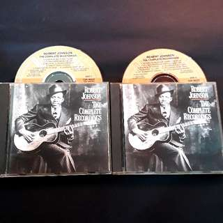 Robert Johnson (the complete recording) blues master 2 cd