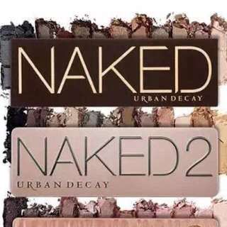 Naked 2 eyeshadow