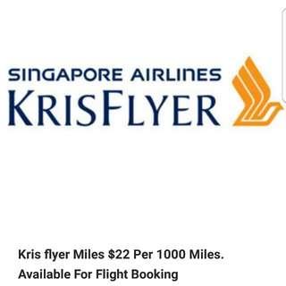 Kris Flyer Miles
