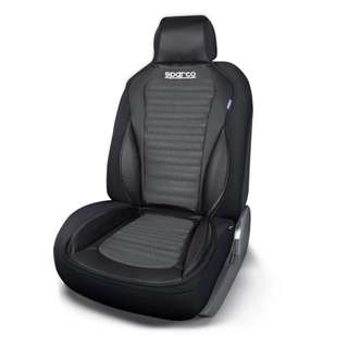 Sparco SPC0902GR Racing Backrest A. Presto (Black/Gray)