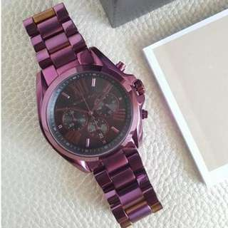 Michael kors Bradshaw Metallic Violet, 43mm, MK6398