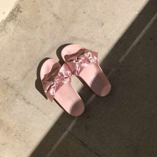 PUMA X Fenty Bow Slide Sandals