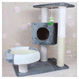 [PO] Grey Cat TreeHouse