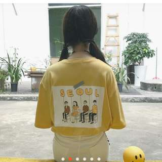 Ulzzang graphic tee shirt shirt harajuku oversized