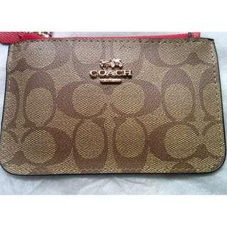 "coach coin purse ( replica) 3.5x6"""