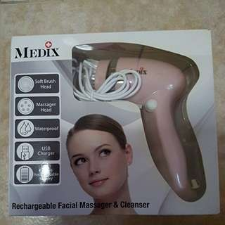 Medix rechargeable facial massager and cleanser