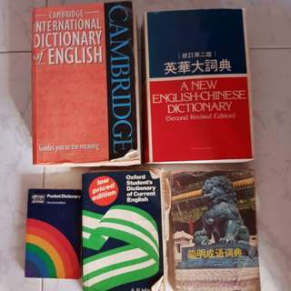 Variety of dictionary