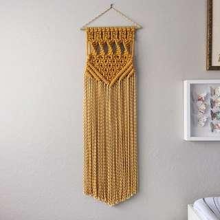 Macrame Wall Hanging Rope Art