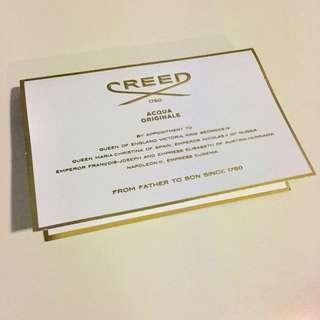 Luxury UK perfume brand CREED Iris Tubereuse EDT 2ml