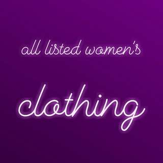 All listed women's clothes