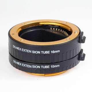 Auto Focus Macro Extension Tube for Sony Mirrorless E-mount Camera