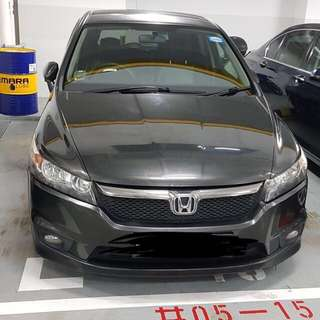 Honda Stream MPV Cheap Car Rental Personal Car Rental Uber Grab Cheap Rental