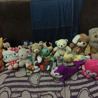 stuffed toys for 50 pesos each