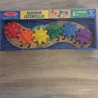 Rainbow caterpillar