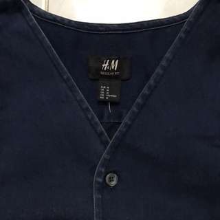HnM Baseball shirt denim