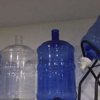 5 Gallon slim and round bottle