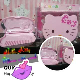 HK Mirror with Comb