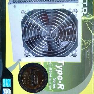 清倉大平賣: GTR 500W電腦 电源供應器 (全新)