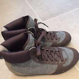 adidas by stella mccartney休閒短筒鞋