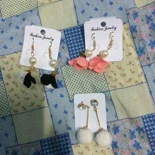 3 for 100Dangling Earrings