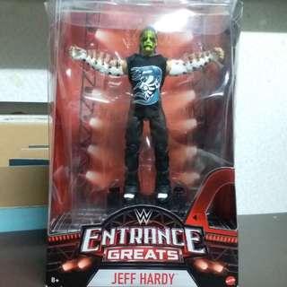 全新Mattel WWE Entrance Greats Jeff Hardy