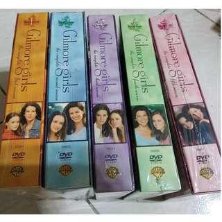 Gilmore Girls DVD Season 1 to 5 NEW UNOPENED