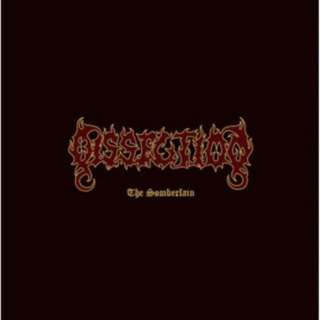 Dissection (SWE)-Somberlain Vinyl LP Reissued 2018 Black Lodge 300pc Black/gold Official
