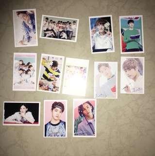 Steventeen lomo cards