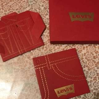 Levi's 限量版利是封 2018