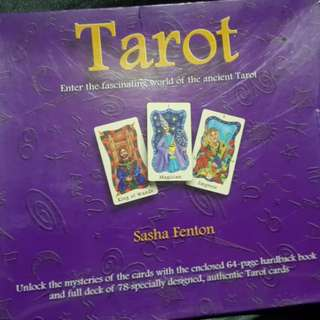 Sasha Fenton Tarot Deck and Book
