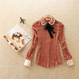 (Free Delivery) Vintage Blouse #CNY88