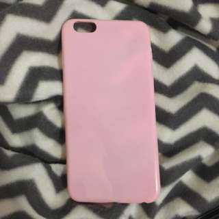 Pink Glossy Soft iPhone 6/6s+ Case