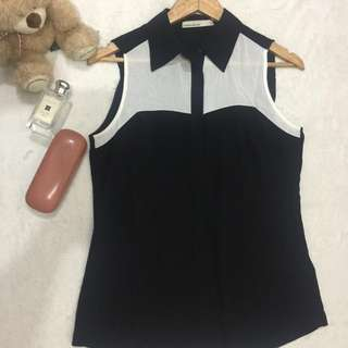 Karen Millen Collared Top