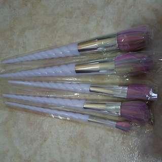 Unicorn Make Up Brushes