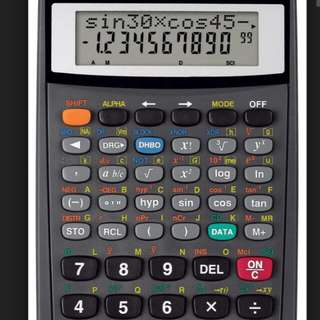 Scientific Statistical Calculator - Canon F-720