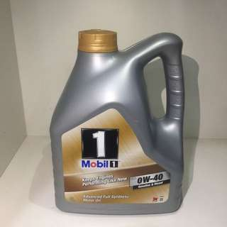 BN Mobil 1 0w40 Fully Synthetic Engine Oil