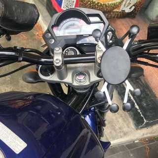 Yamaha FZ16 Motorcycle Handphone Holder Mount Mobile Phone Holder XGrip