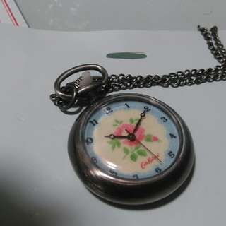Cath kidston 玫瑰花 錶 鏈 坨錶