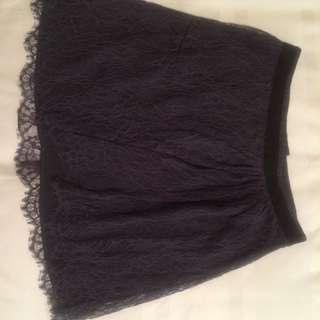 Club Monaco lace skirt - pretty!