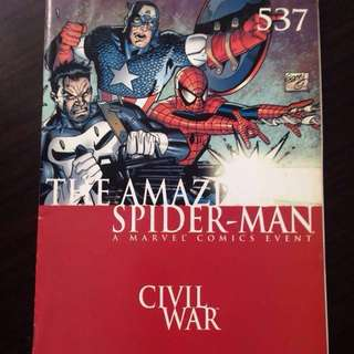 The Amazing Spiderman #537 Civil War