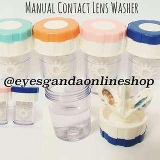 Manual Contact Lesn Washer
