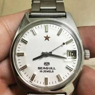 Vintage Seagull ST5 watch for the liberation army