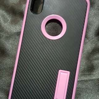 IPhone X Carbon Fiber (Black and Pink)