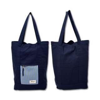 Dutton Tote Bag Navy