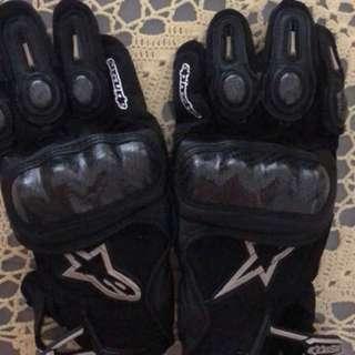 Alpinestar full gloves
