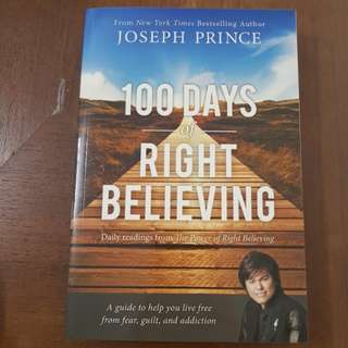 100 days of right believing by pastor Joseph Prince