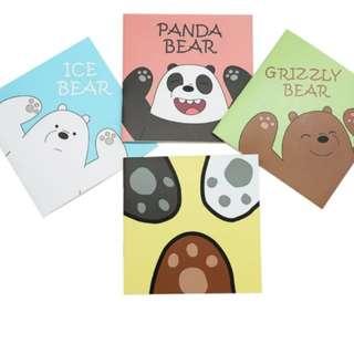 We Bare Bear Notebooks