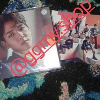 EXO COUNTDOWN JAPAN ALBUM ARRIVAL